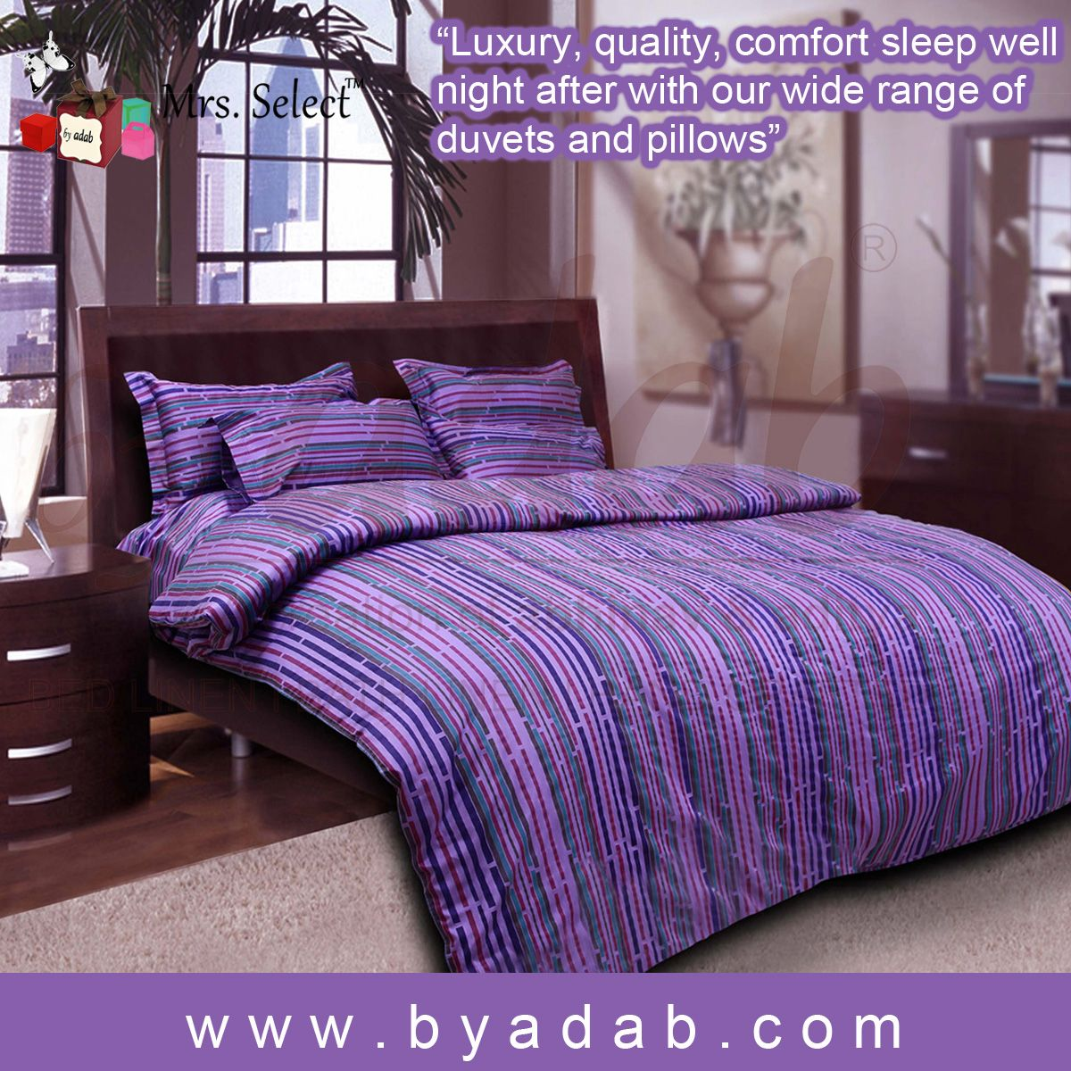 Buy The Luxury Bed Sheet Online : Http://www.byadab.com/bed Linen/bed Sheets.html  Brighten Up Your Bedroom By Spreading This Coloured Bed Sheet Set From By  ...