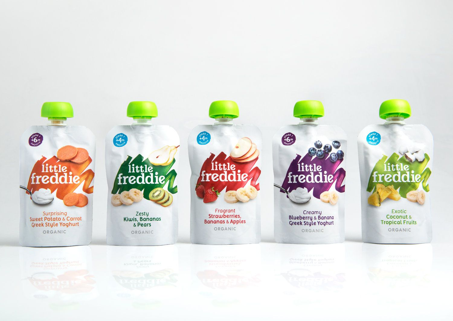 Rebranding And Packaging Design A Range Of Baby Food To Disrupt The Category World Brand Design Baby Food Recipes Baby Food Pouch Recipes Milk Packaging