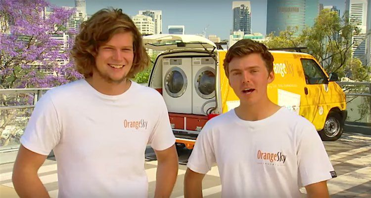 Doing Laundry For Homeless Earns Them Young Australians Of The