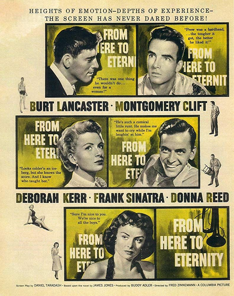 Image result for From Here to Eternity 1953