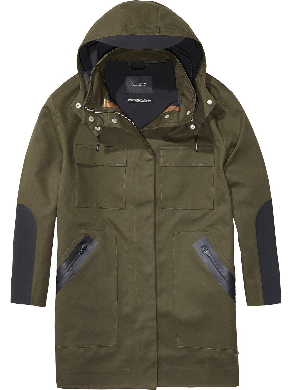 Scotch & Soda Technical Rain Coat | Wears | Pinterest | Rain coats ...