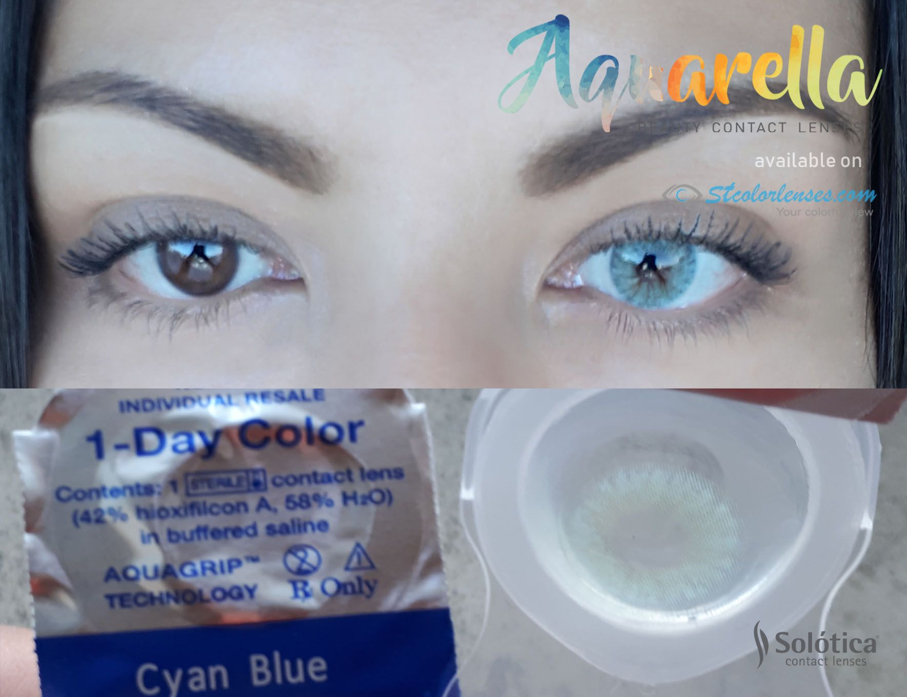 Daily Disposable Color Contact Lenses With High Water Content