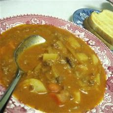 German Tomato Soup - reminds me of my moms cabbage casserole! Sounds really good!