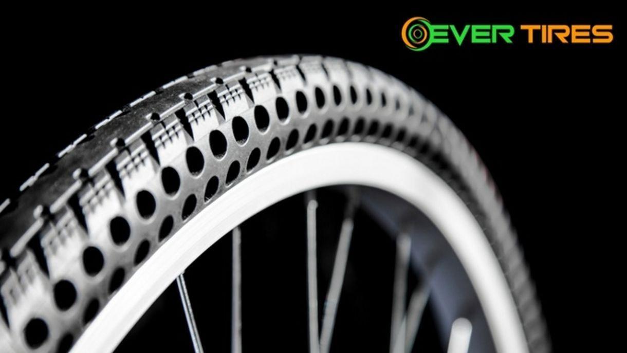 Nie Wieder Platte Reifen Nexo Tires Kickstarter Projekt Kommt Ins