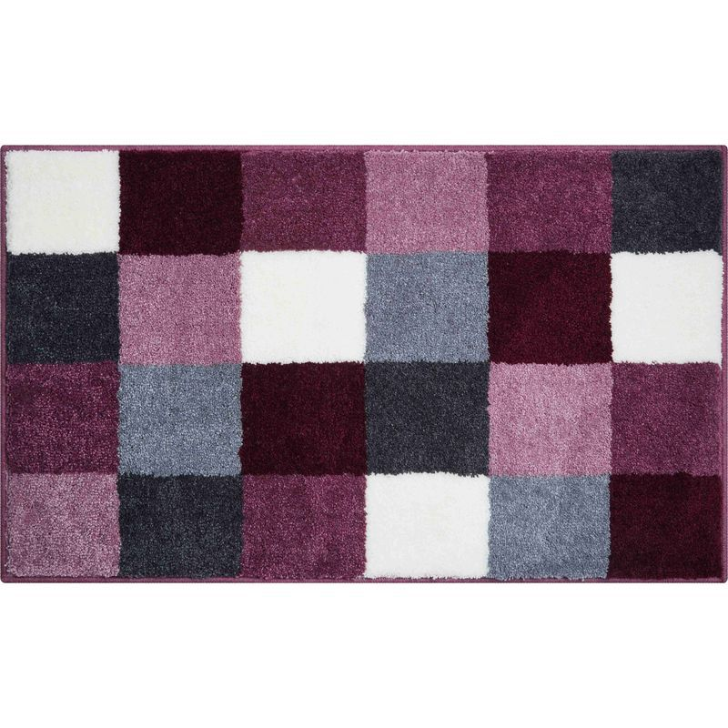 Tapis De Bain Bona Berry 60 X 100 Cm Couleur Berry Reference B2747 016001022 Grund In 2020 Bath Mat Sets Bath Linens L Shaped Bath