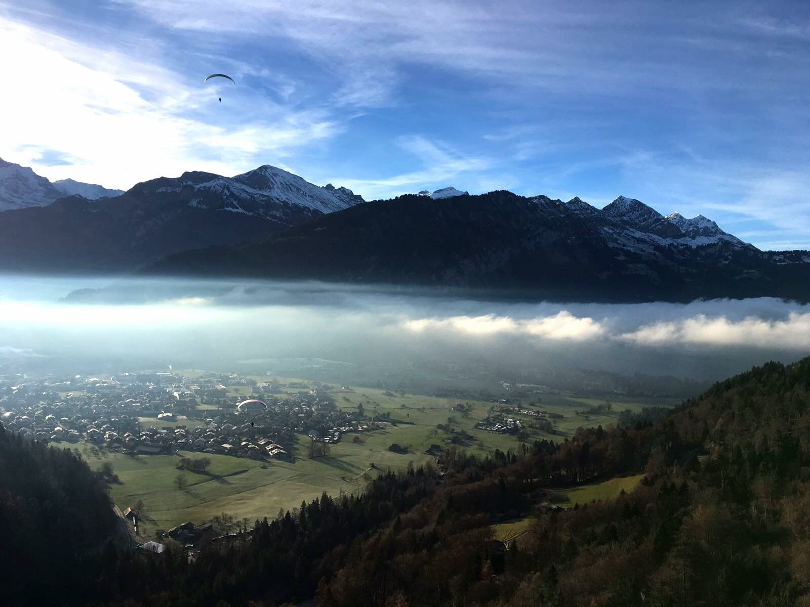 Interlaken On Cool Pictures Mountains Pictures