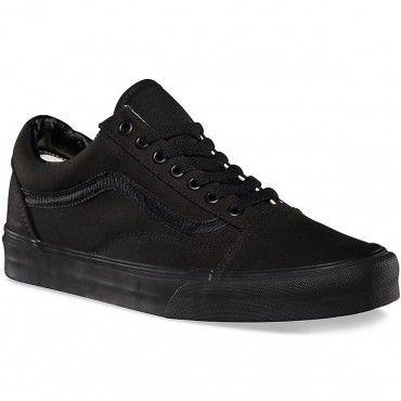 235401131e Vans Old Skool Core Classic Shoes - Black Black - 9.0