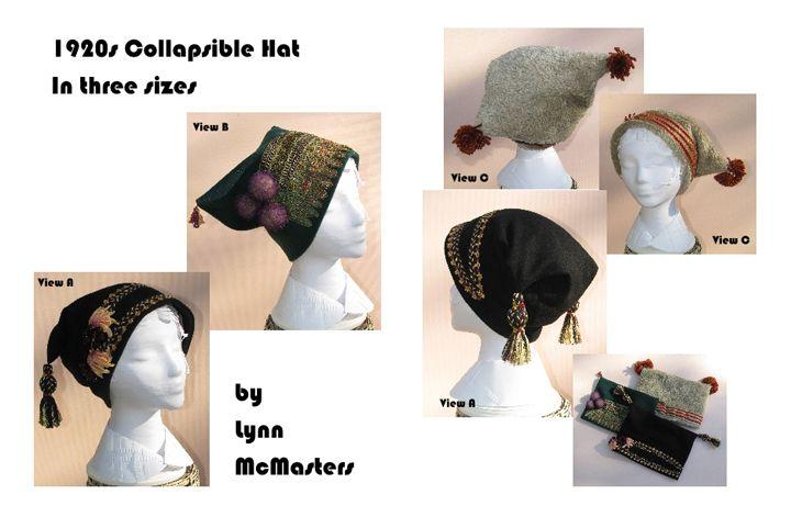 Faltbarer Hut 1920er Jahre (L51) | A Mode, Schuhe,Bekleidung, Stoffe ...