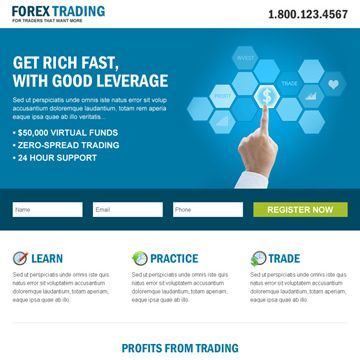 Forex free html template