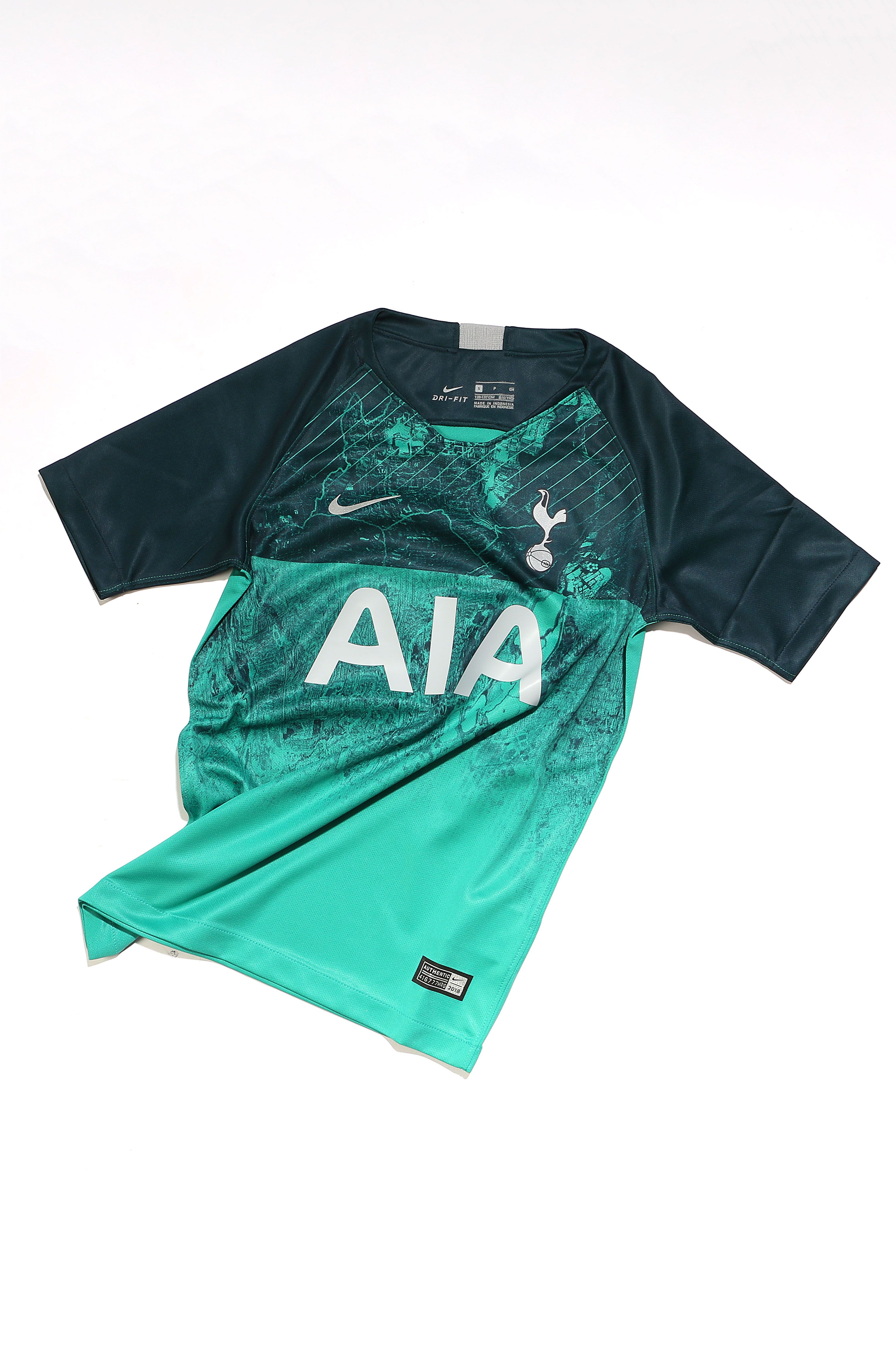 Tercera equipación del Tottenham.  nike  futbolmaniakids  tottenham Fútbol  De Niños 387bc7c0e1d44
