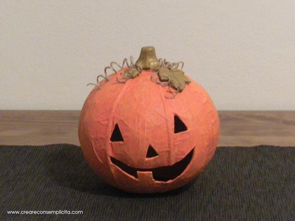 Zucca Halloween Cartapesta.Zucca Halloween In Cartapesta Halloween Halloween Pumpkin