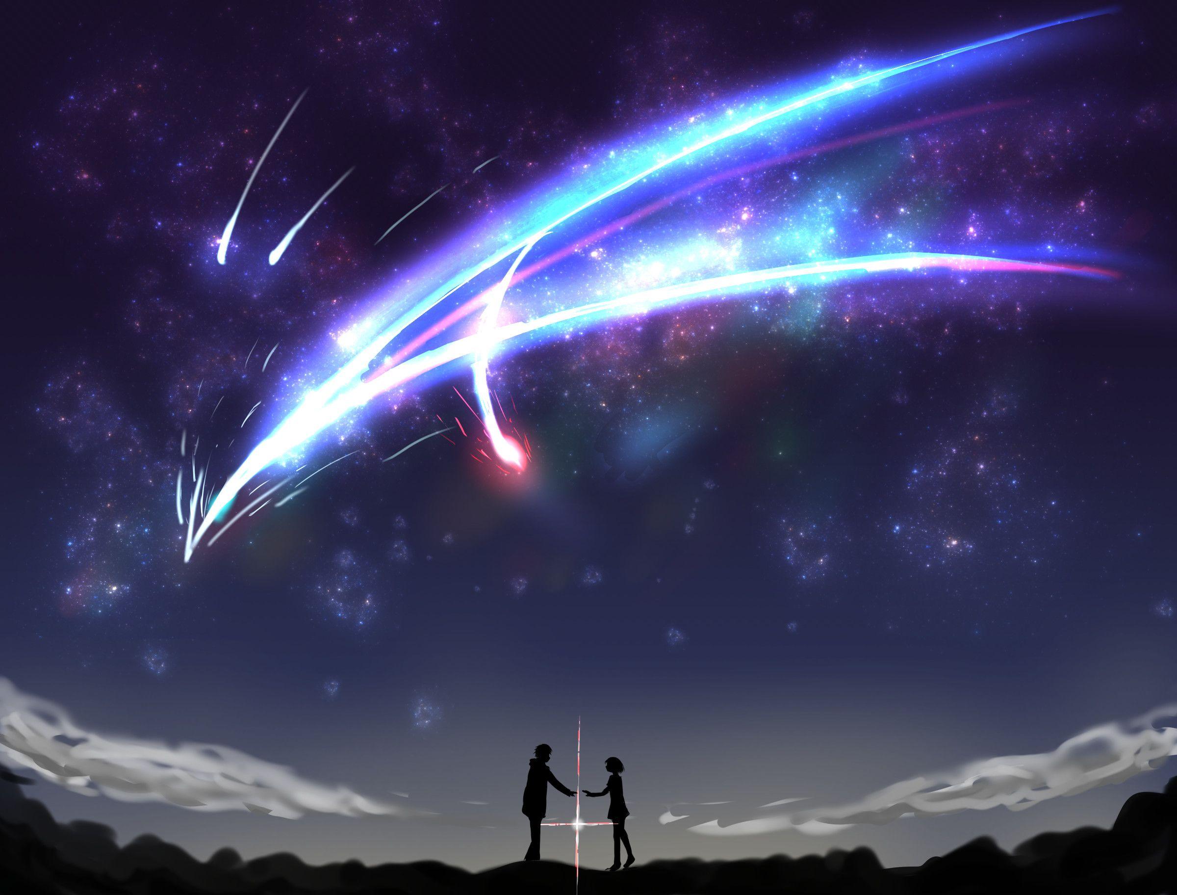 2400x1824 Anime Your Name Kimi No Na Wa Mitsuha Miyamizu Taki Tachibana Wallpaper Kimi No Na Wa Wallpaper Your Name Anime Name Wallpaper