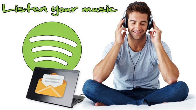 How to Share Spotify Song/ Playlist to friends via Email