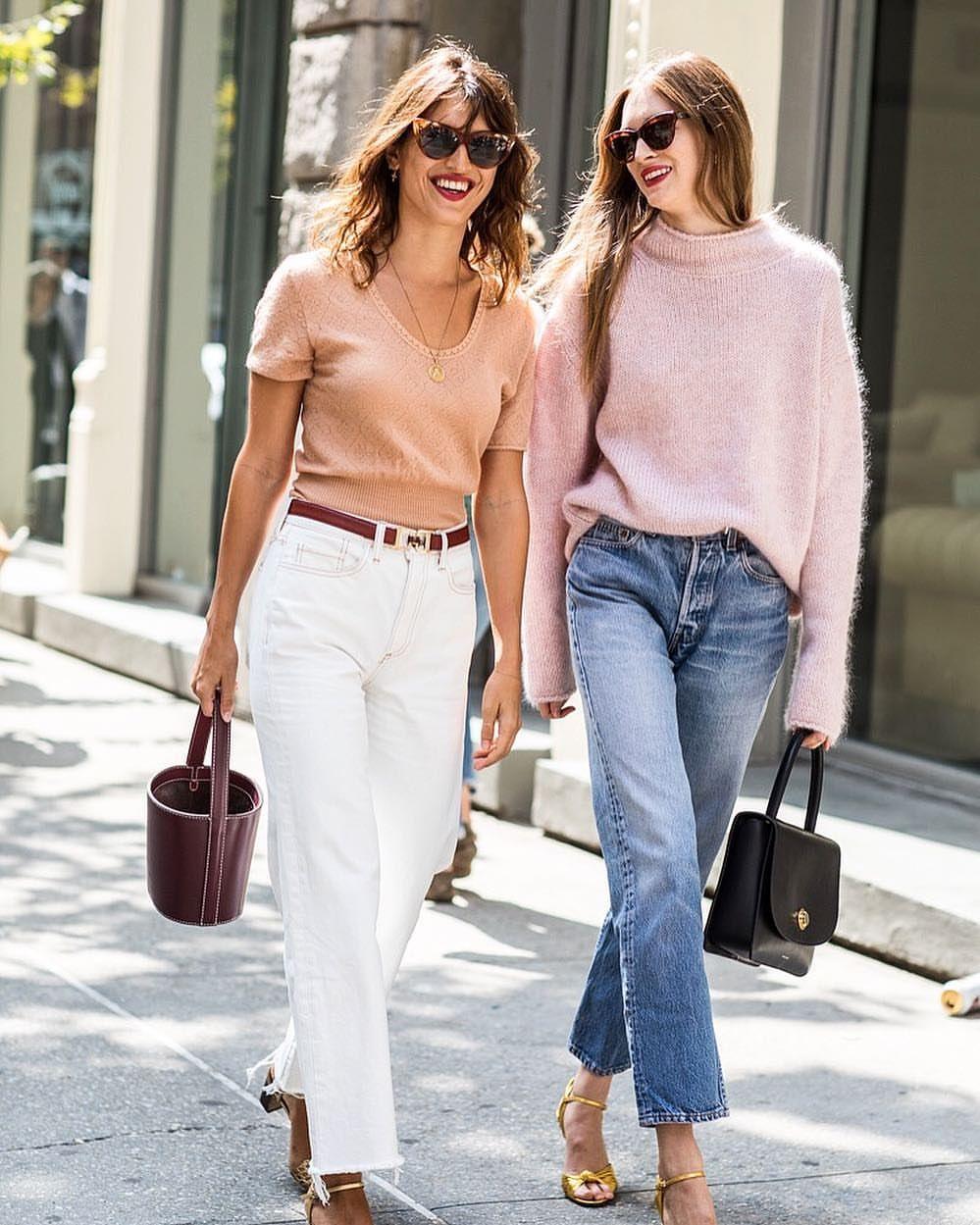 """Mi piace"": 269, commenti: 7 - Sandra Semburg (@sandrasemburg) su Instagram: ""Jeanne and Laura #nyfw @vogueparis"""