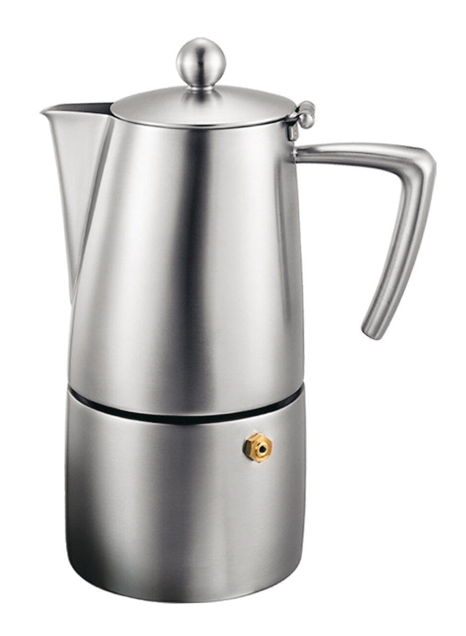 Cuisinox cup milano espresso coffee maker in satin finish cofm