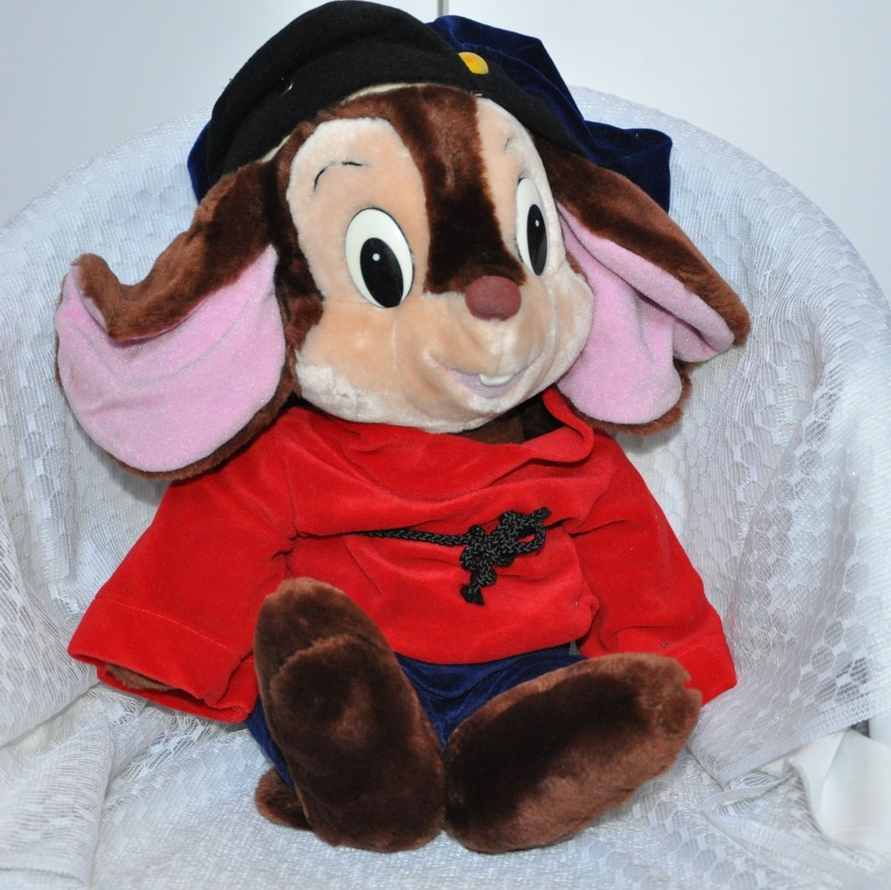 Fievel Plush Vintage 1986 An American Tail 22 inch Large