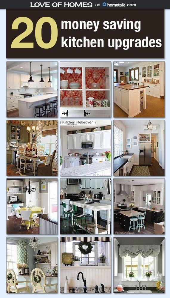 money saving kitchen upgrades idea box by sallyloveofhomes. Black Bedroom Furniture Sets. Home Design Ideas