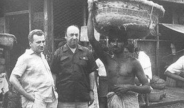 Pablo Neruda and Jorge Amado in Salvador, Bahia   Salvador de ...