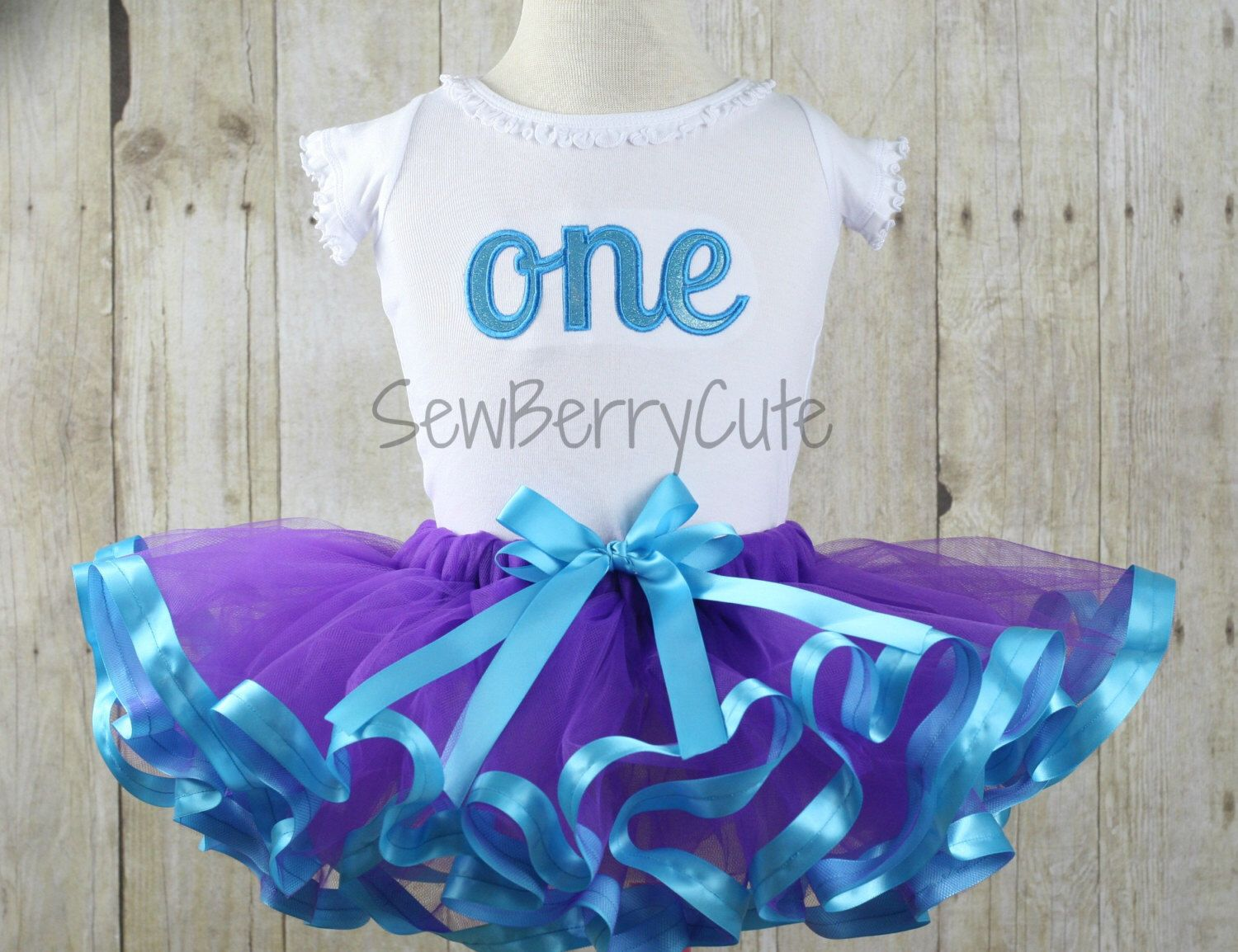 1st Birthday Outfit One Birthday Bodysuit & Ribbon Tutu by SewBerryCuteBoutique on Etsy https://www.etsy.com/listing/227394276/1st-birthday-outfit-one-birthday