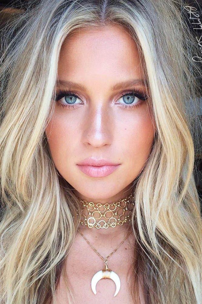 36 Ideas For Natural Bridal Makeup Hair Makeup Pinterest