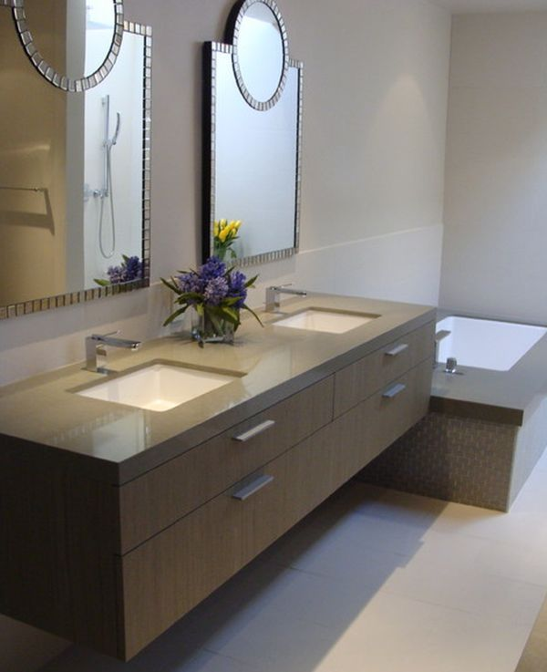 Great 27 Floating Sink Cabinets And Bathroom Vanity Ideas Design