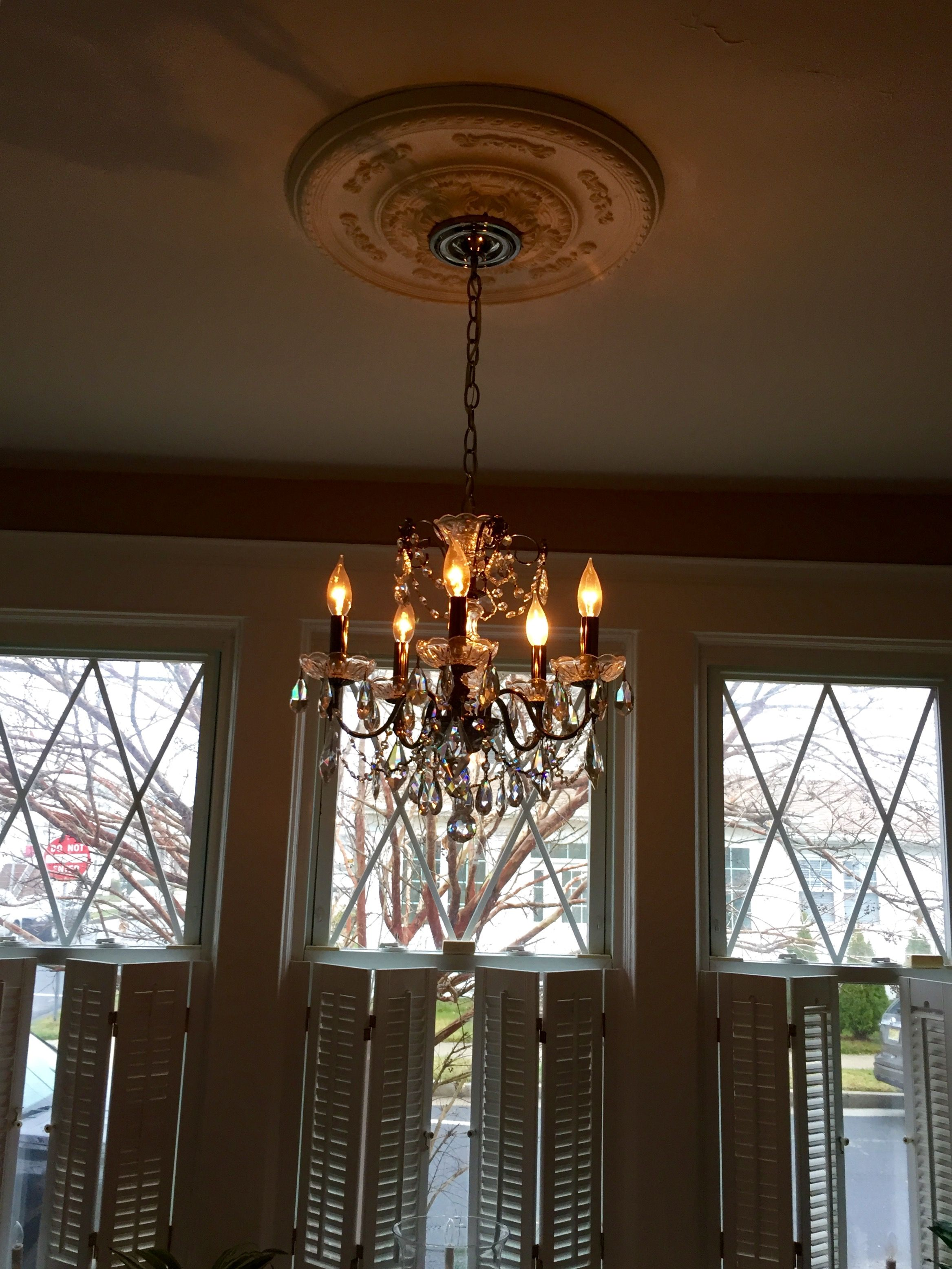 Pretty and petite chandelier let there be lights pinterest pretty and petite chandelier aloadofball Images