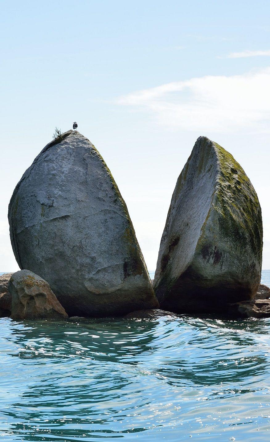 Split Apple Rock Kaiteriteri Nz Lugares Raros Naturaleza Impresionante Hermosos Paisajes