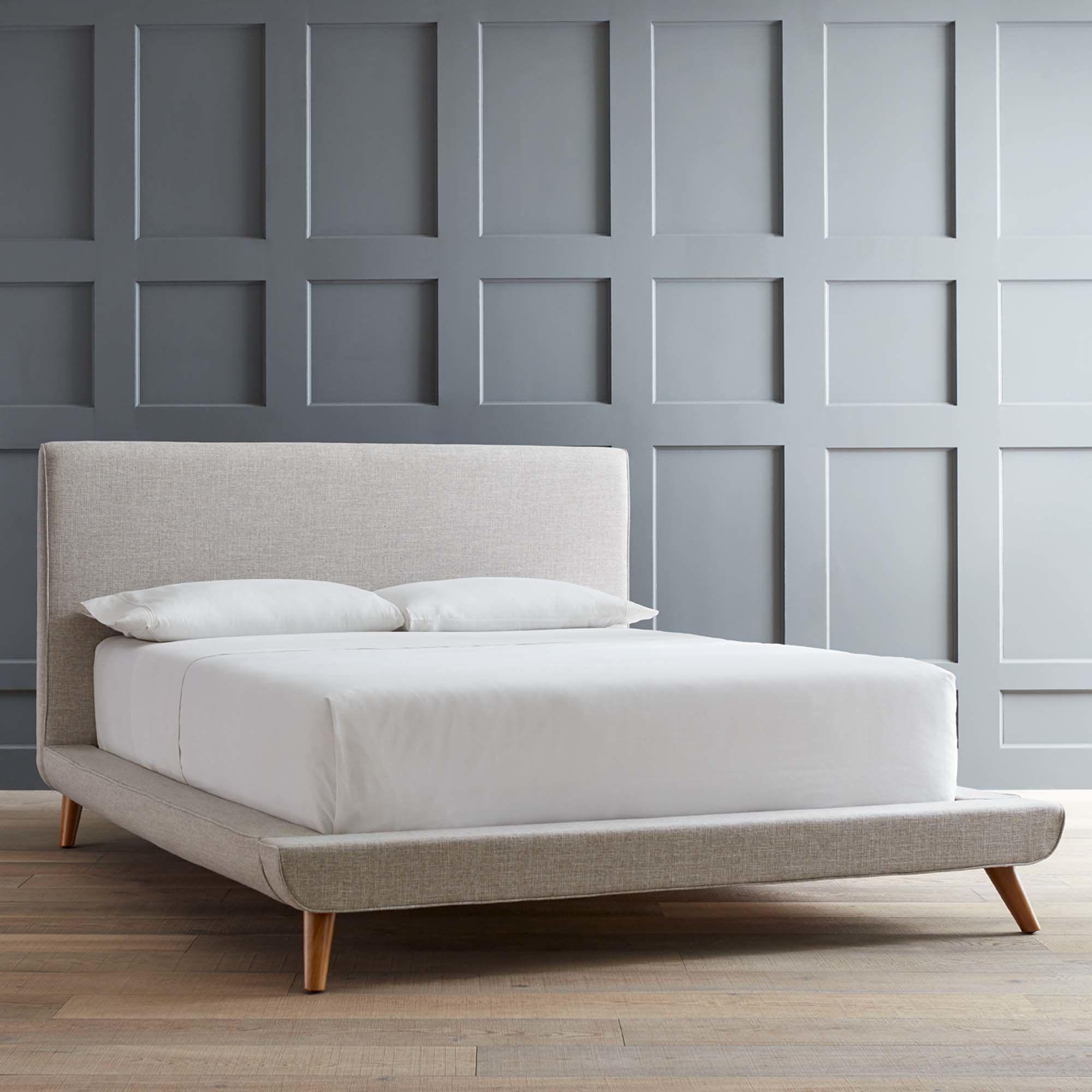 Enchanting Platform Bed King Frame For Your Bedroom Design Mid