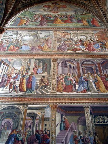 Frescos - Santa Maria Novella - Florence, Tuscany, Italy