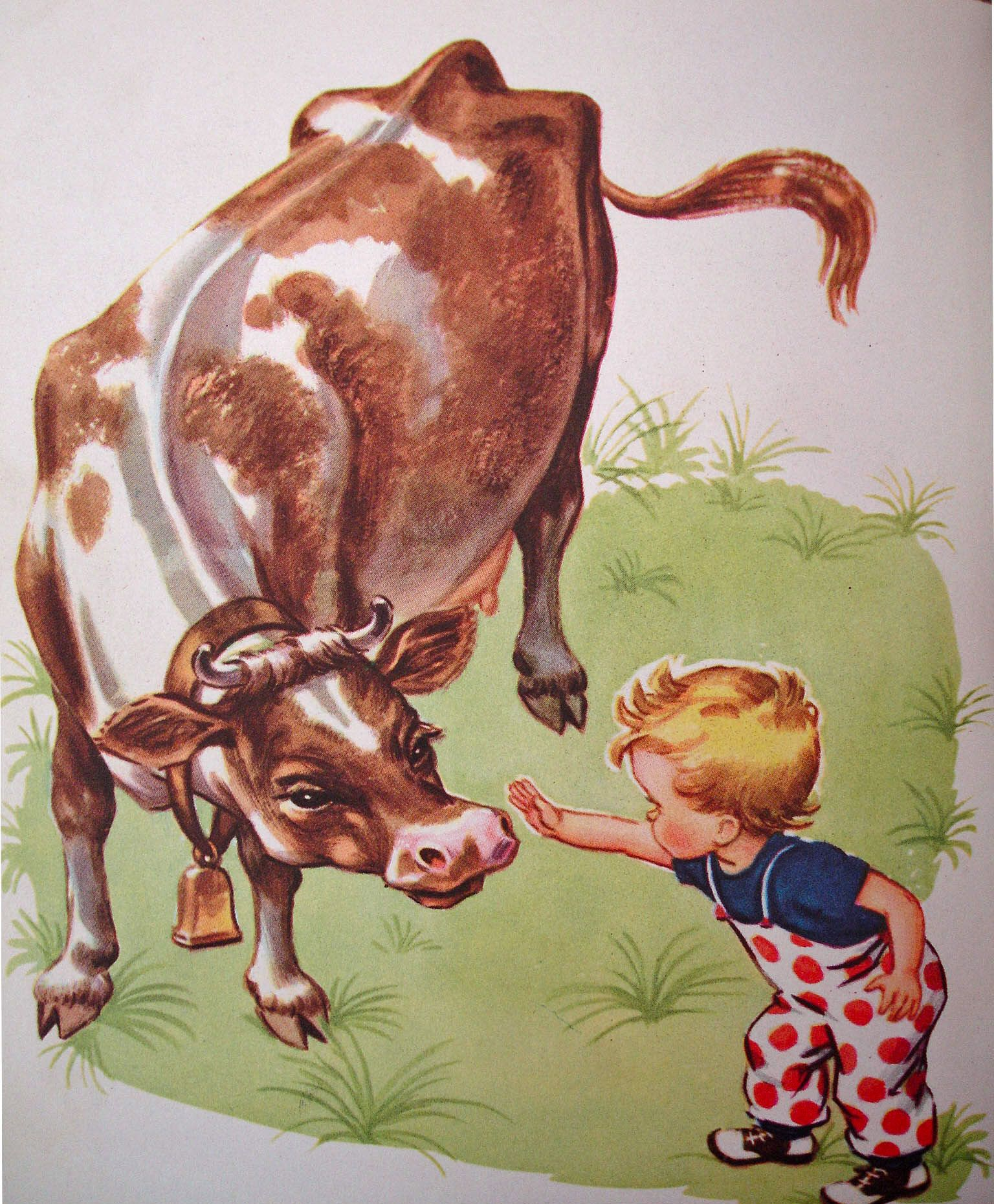 How Big, A Little Golden Book, Story & Pictures by Corinne Malvern, 1949.