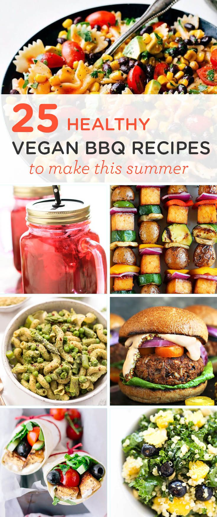 Healthy Vegan Bbq Recipes For Summer Vegan Recipes