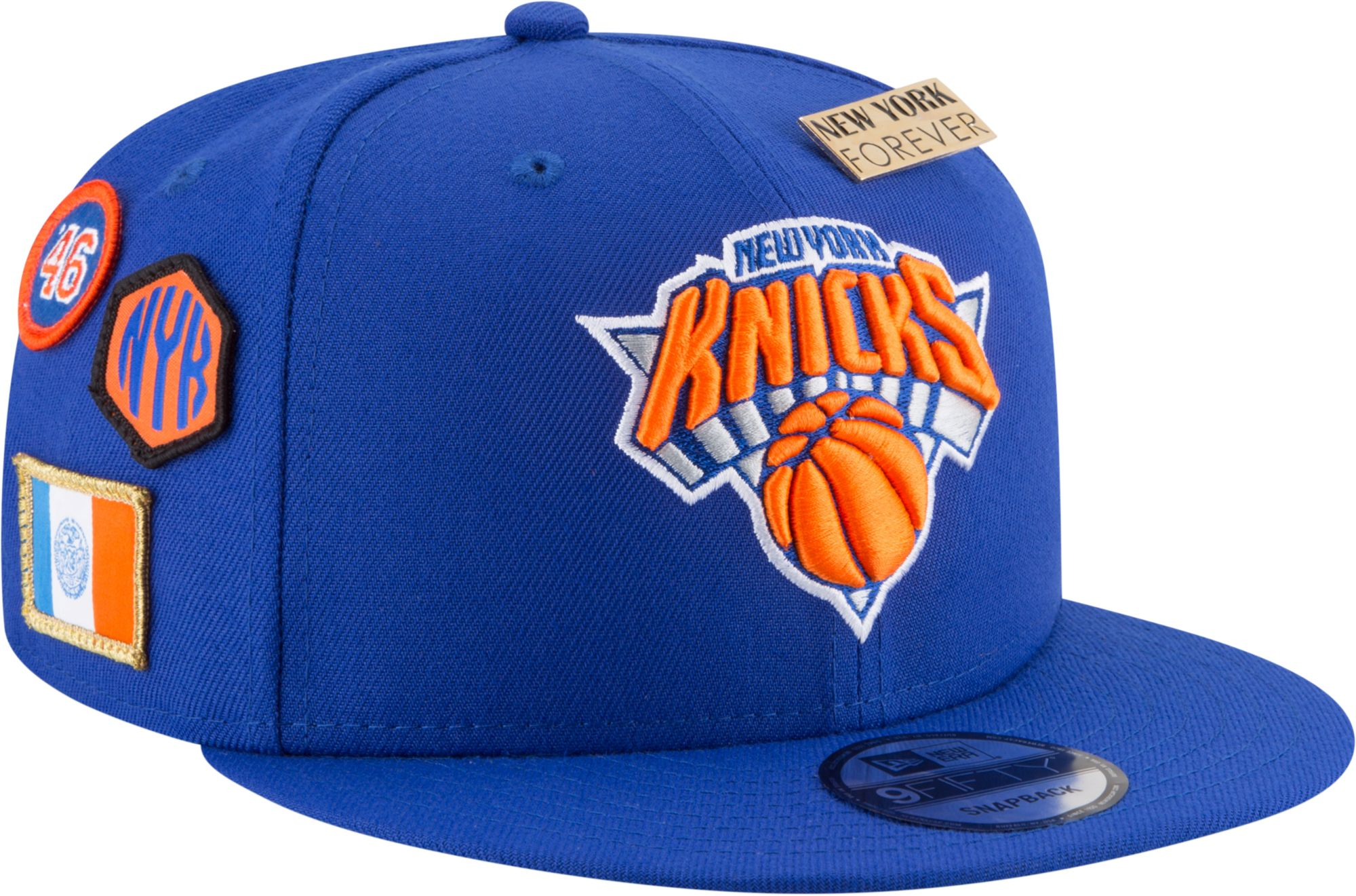 newest 8bc05 c0ec4 New Era Men s New York Knicks 2018 NBA Draft 9Fifty Adjustable Snapback Hat,  Team