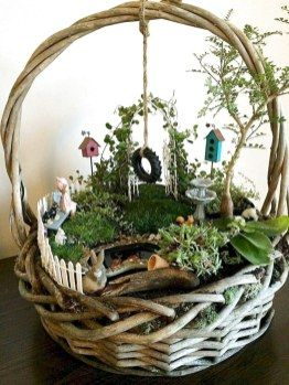 ✔40 Best Indoor Fairy Garden Ideas (36) – The Expert Beautiful Ideas Bahçe