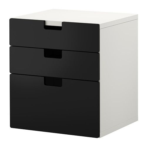 Childrens Animals Storage Box Chest 3 Kids Drawer Bedroom: STUVA 3 Drawer Chest IKEA Low Storage Makes It Easier For