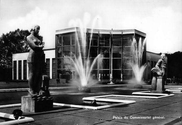 La Belgique des Quatre Vents: LA BELGIQUE D'ANTAN Liège - 1939 - Exposition Internationale de l'Eau (en photos)