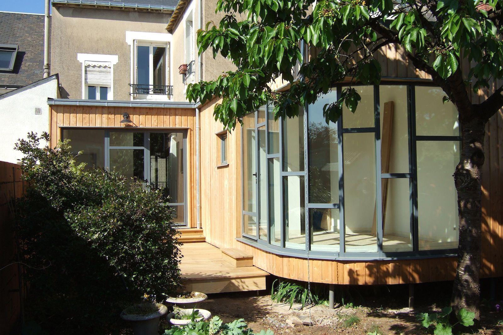 leprin - extension mancelle - archigraph architecture : maison