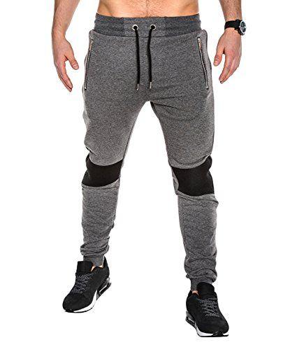 BetterStylz 2TNEBZ Men´s Sweat Track Pants Gym Trousers Joggers Exercising  Pants Paris Style Bottoms