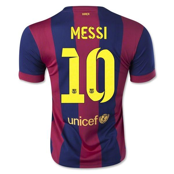 Image result for Lionel Messi #10 FC Barcelona Soccer Jersey Kit