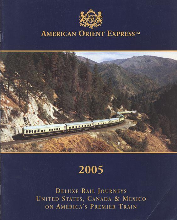 American Orient Express brochure