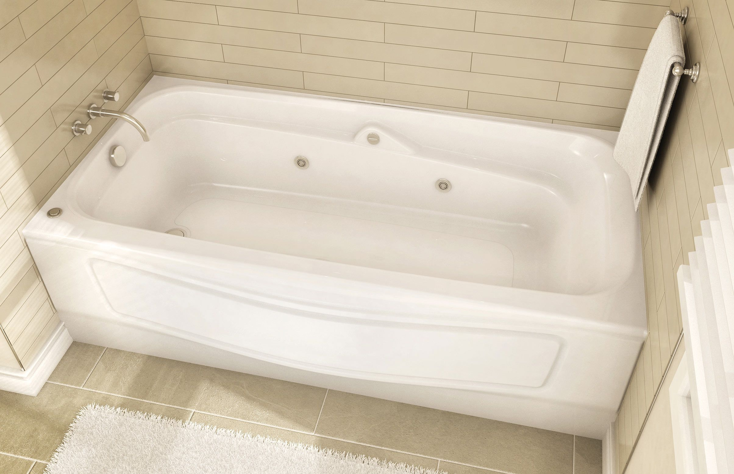 Casa Alcove Bathtub Maax Professional Upstairs