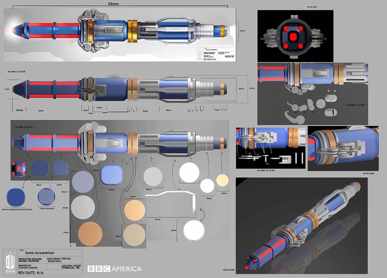 NUOVO Doctor Who 12th Doctor/'s secondo cacciavite sonico