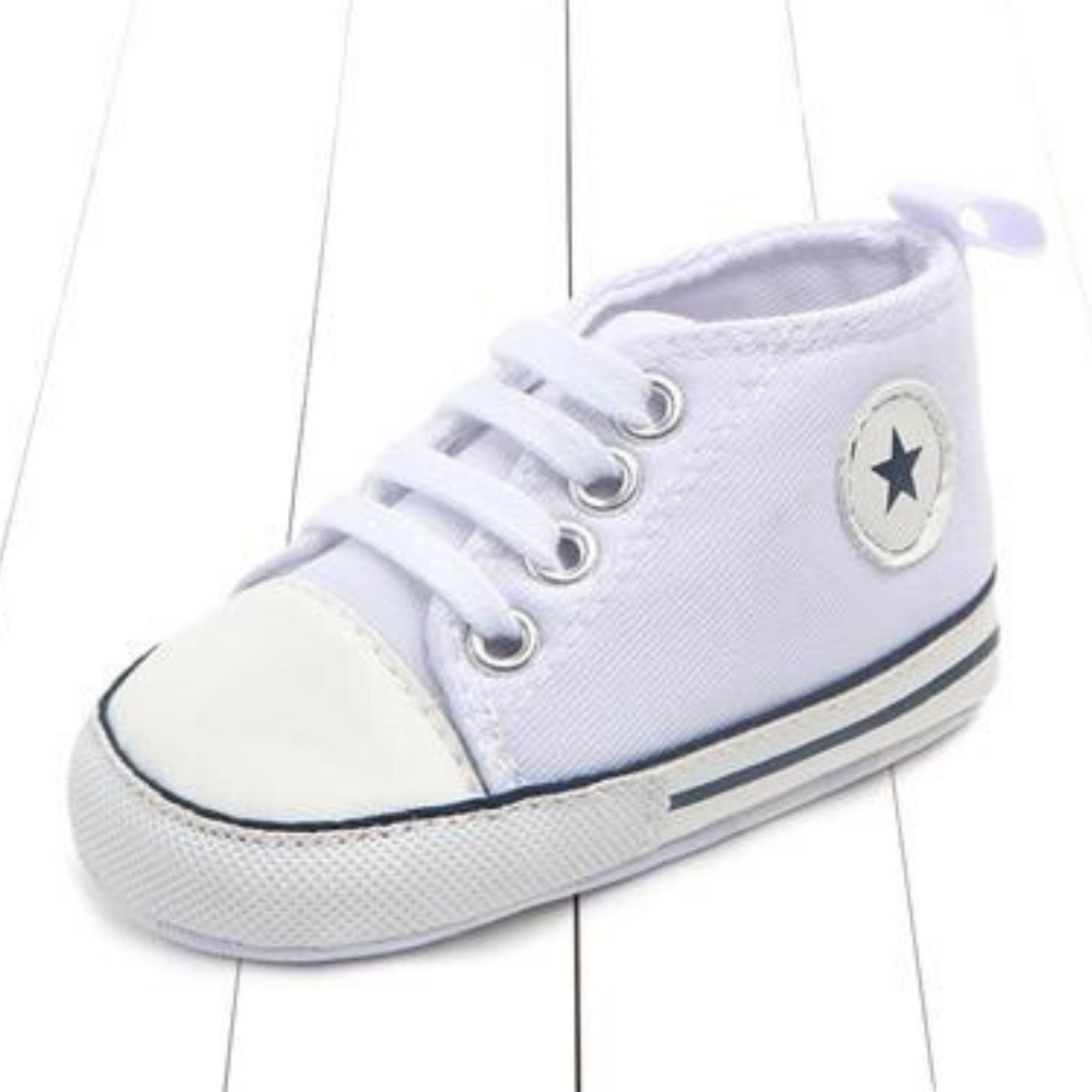 baby walking shoes in store