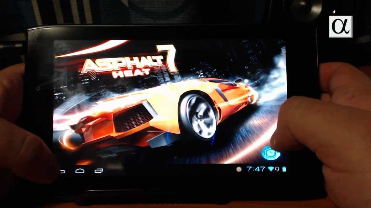 Asphalt 7: Heat en Acer Iconia Tab A100 (+playlist)