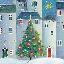 Buy Paper House the Village Tree Charity Christmas Cards, Pack of 6 Online at johnlewis.com
