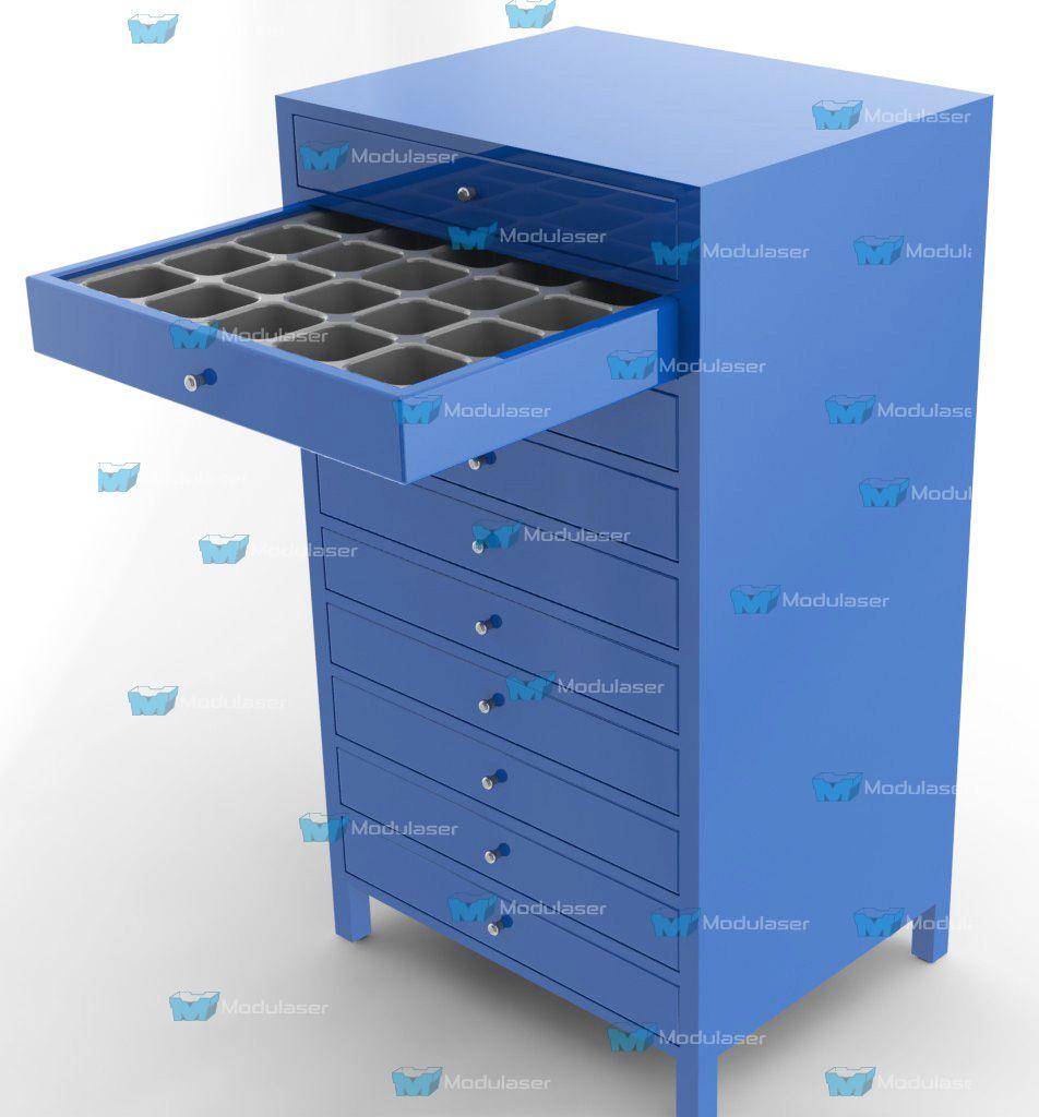 Organizador m ltiple con cajones y compartimientos ideal - Organizador de herramientas ...