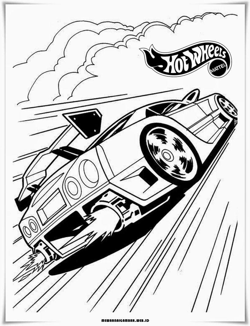Gambar Modifikasi Mobil Balap Sketsa Terbaru Halaman Mewarnai
