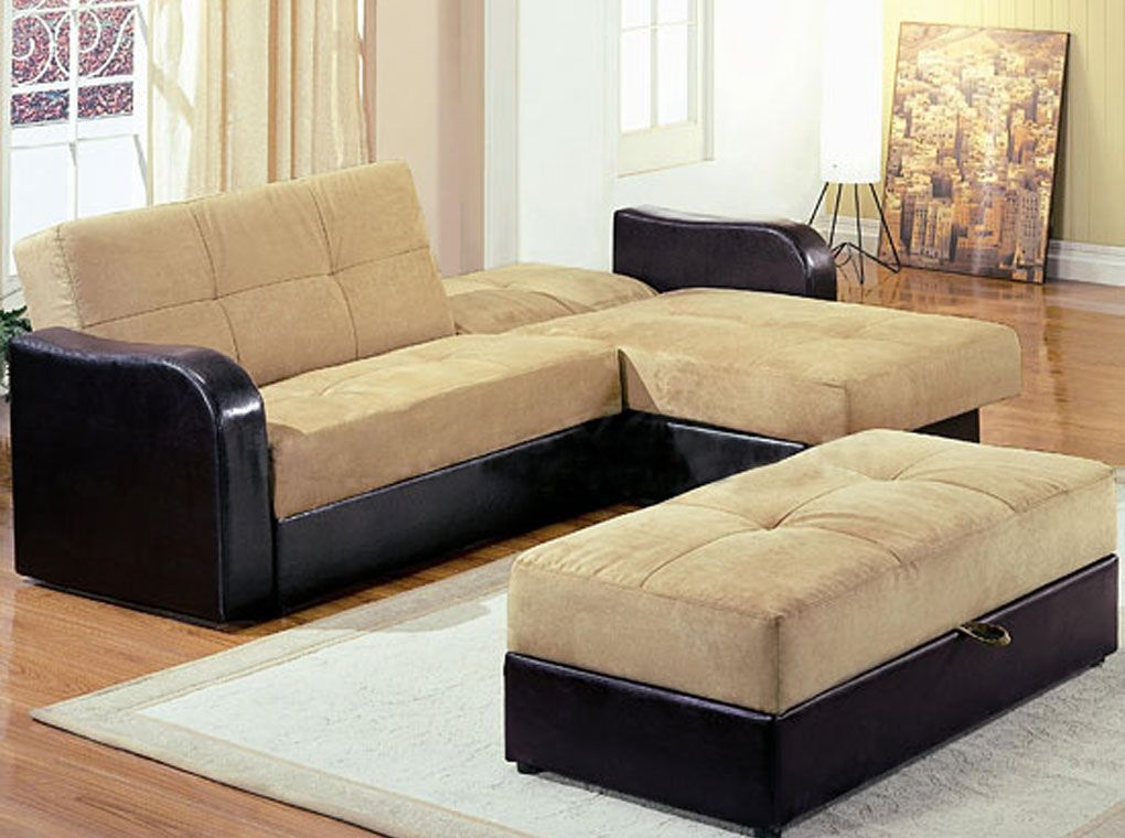 Kuser Sectional Bed Tan Sofa bed set, Sectional sleeper