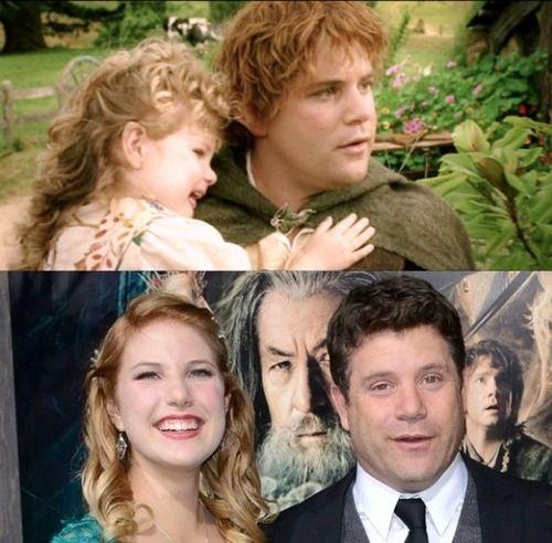 Sean Astin S Daughter Alexandra Played Elanor Gamgee The First