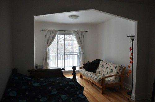 Montréal u2013 Rosemont u2013 Appartement 3 1 2 meublé à louer u2013 Location