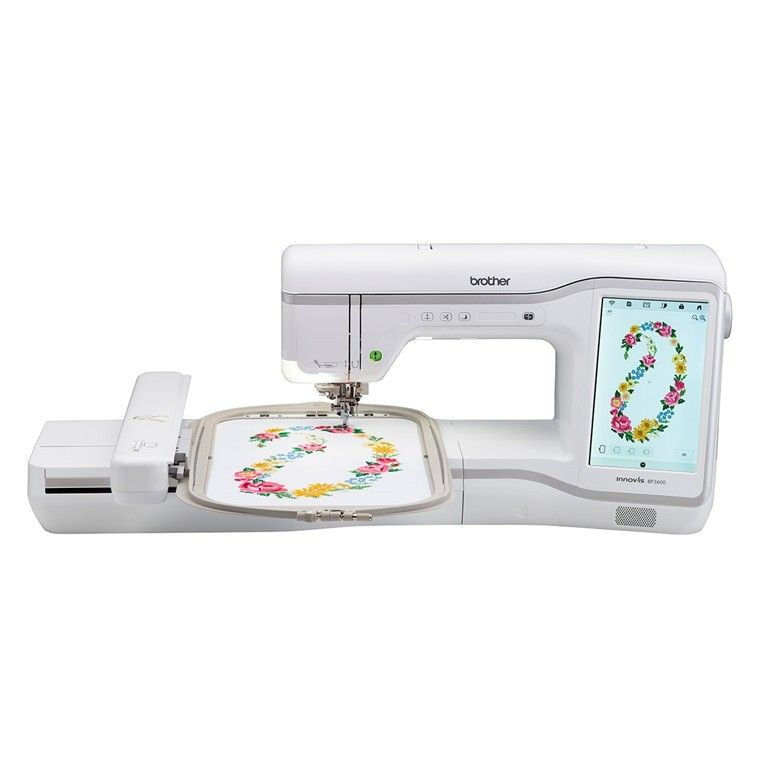 Buy Now Brother Bp3600 Embroidery Machine Only On Bazar91 Brother Embroidery Machine Large Embroidery Machine Embroidery